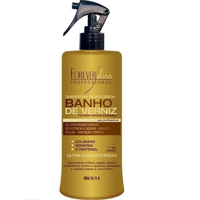 FOREVER LISS - BANHO DE VERNIZ QUERATINA HIDROLISADA - 300ml