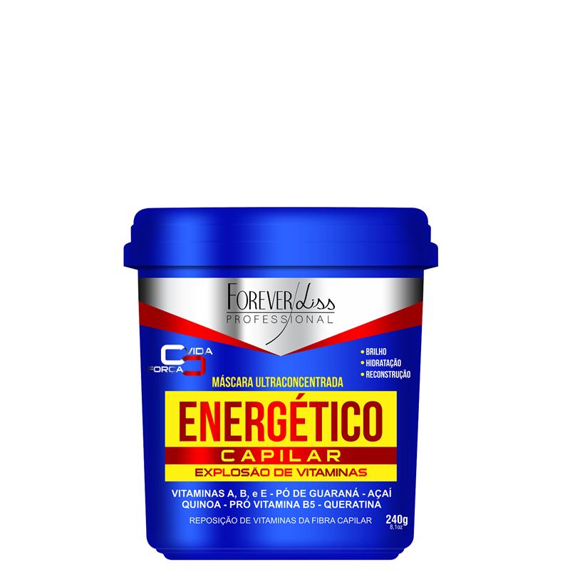 FOREVER LISS - ENERGÉTICO CAPILAR MÁSCARA ULTRACONCENTRADA 240g