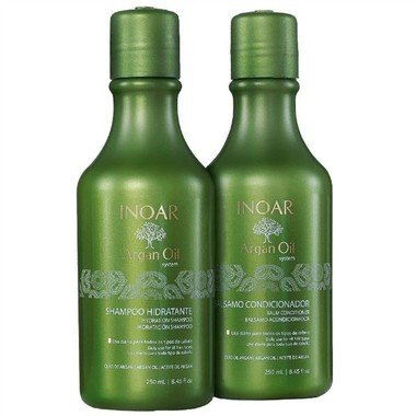 INOAR - KIT DUO ARGAN OIL - 250ml