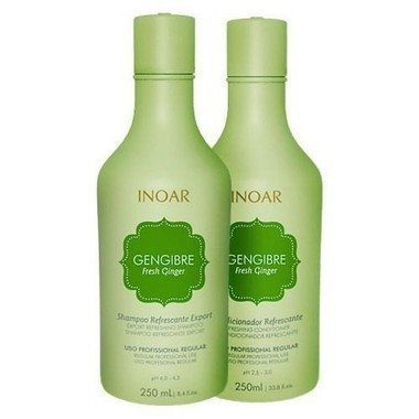 INOAR - KIT DUO GENGIBRE SHAMPOO / CONDICIONADOR - 250ml