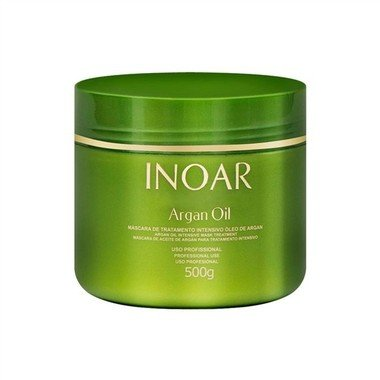 INOAR - MÁSCARA ARGAN OIL - 500g