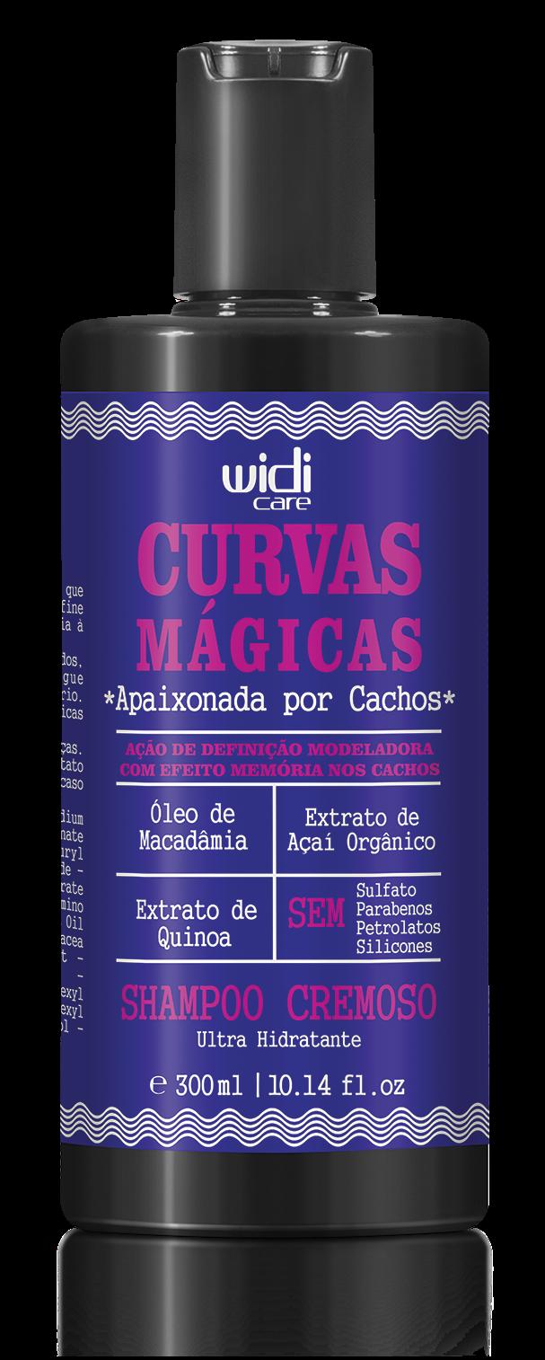 WIDI - CURVAS MÁGICAS - SHAMPOO CREMOSO - 300ml