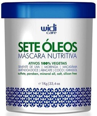WIDI - MÁSCARA NUTRITIVA SETE ÓLEOS - 1Kg