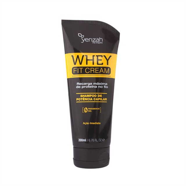 YENZAH - WHEY FIT CREAM - SHAMPOO - 200ml
