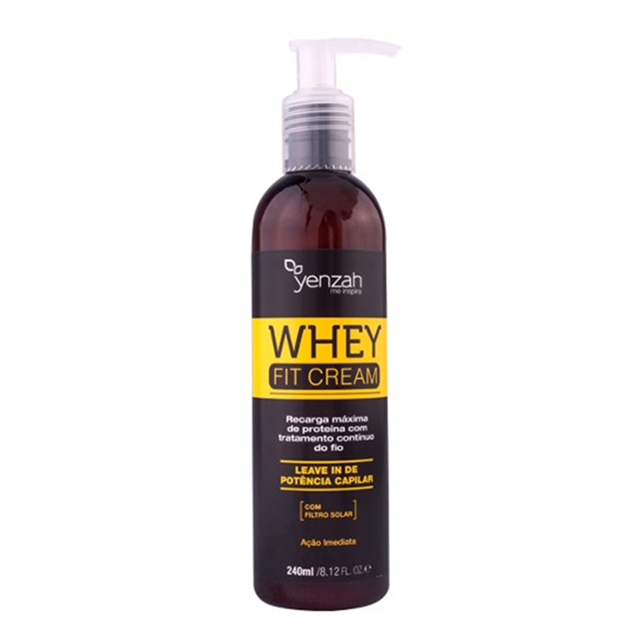 YENZAH - WHEY FIT CREAM LEAVE IN - 240ml