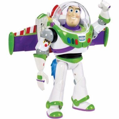 Boneco Buzz Lightyear Turbo Jato Toy Story CFM66 - Mattel