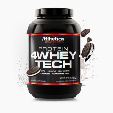 4 Whey Tech ( 907g ) - Atlhetica Nutrition