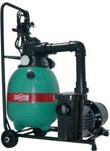 Filtro para piscina Dancor DFR-11 c/ carrinho e bomba 1/4cv 127/220/254V M