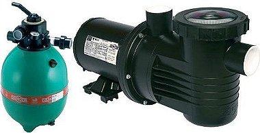 Filtro de piscina Dancor DFR-15-7 c/ bomba 1/2cv-127/220/254V M