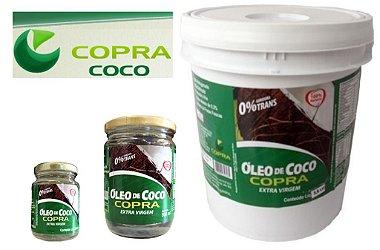 Óleo De Coco Extra Virgem 100% Natural - Copra Balde c / 3,2 Litros