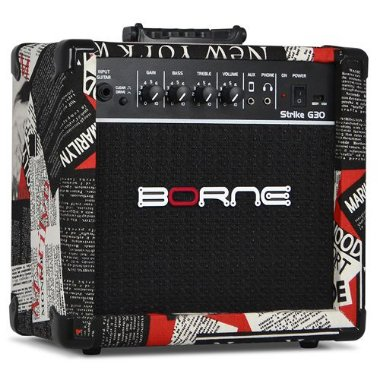 Amplificador Cubo Borne G30 Hollywood C/ Distorção Guitarra
