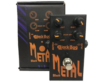 Pedal Black Bug Black Metal Distortion Heavy Metal