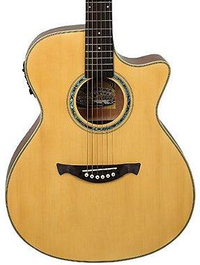 Violão Elétrico Aço Tagima Woodstock Tw29 Jumbo Natural