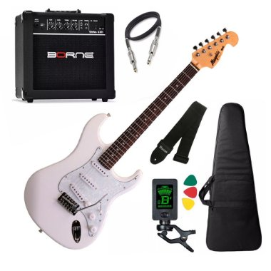 Kit Guitarra Tagima Memphis Mg32 Branco amplificador borne