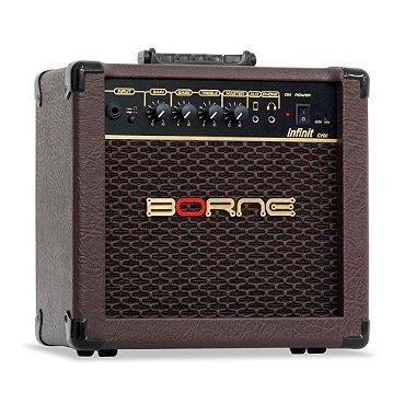 Amplificador Cubo Borne Violão Infinit Cv60 15w Acústico
