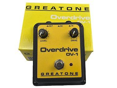 Pedal Overdrive Onerr Greatone Ov1 guitarra violão baixo