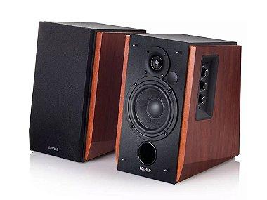Caixa Som Monitor Audio Edifier R1700bt Bluetooth Game Pc Tv Madeira
