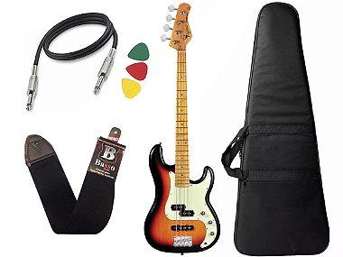 Kit Baixo Tagima Tw65 Woodstock precision Sunburst Capa