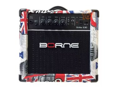 Amplificador Cubo Borne G30 London C/ Distorção Guitarra