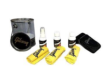 Kit De Limpeza Gibson Guitar Care Kit c/ correia - original