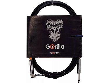 Cabo Tecniforte Gorilla 3 Metros P10 plug 90 L - grave forte