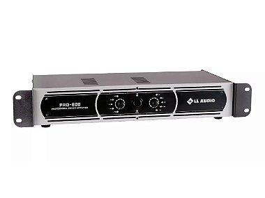Potência Ll Audio Pro 800 200w Rms Amplificador Profissional