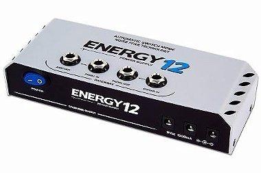 Fonte Landscape E12 energy Com Patch Bay Tomada 12 pedais