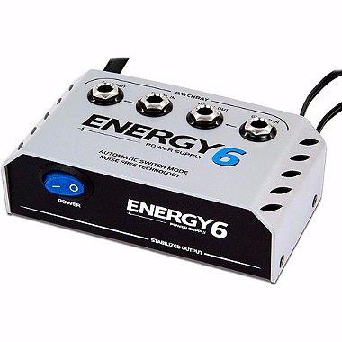 Fonte Landscape E6 Energy 6 Pedais 1000ma 9v Patchbay