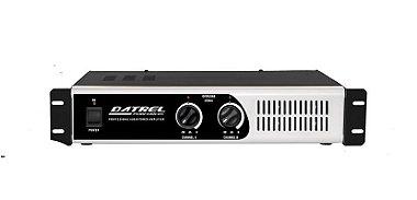Amplificador De Potencia Datrel Pa8000 Profissional 800 W