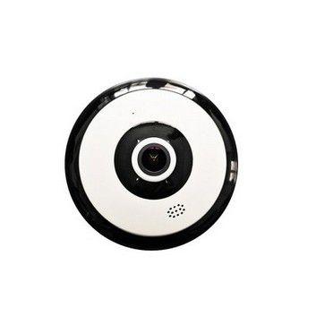 Câmera Ip Wifi Vr Panorâmica Lente 1.44mm 1.3mp - c