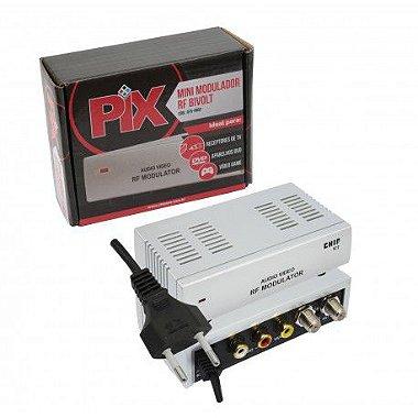 Modulador Rf - Rca Audio Video Para Canal 3 / 4