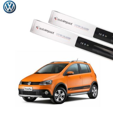 Kit Palheta Limpador Vw Cross Fox 2013 - 2016 - Auto Impact