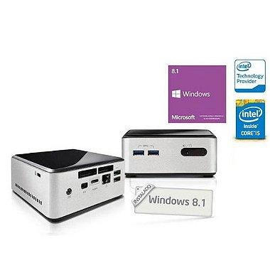 Computador Ultratop Nuc Intel Windows Centrium C42504120 Core I5 - 4250u 4gb Ssd 120gb Mini Hdmi Usb