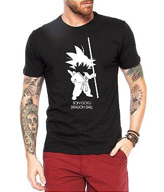 Camiseta Masculina Dragonball Desenho - Personalizadas / Customizadas / Estampadas / Camiseteria / Estamparia / Estampar / Personalizar / Customizar / Criar / Camisa Blusas Baratas Modelos Legais Loja Online