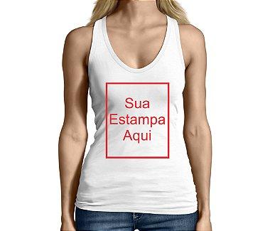 Camiseta Regata Feminina Personalizada Customizada Exclusiva - Personalizadas / Customizadas / Camiseteria / Camisa T - shirts Baratas Modelos Legais Loja Online
