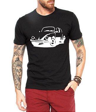Camiseta Masculina Fusca Carro Antigo Clássico - Personalizadas / Customizadas / Estampadas / Camiseteria / Estamparia / Estampar / Personalizar / Customizar / Criar / Camisa Blusas Baratas Modelos Legais Loja Online