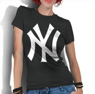 Camiseta Feminina New York Yankees Nyy Basebal - Personalizadas / Customizadas / Estampadas / Camiseteria / Estamparia / Estampar / Personalizar / Customizar / Criar / Camisa Blusas Baratas Modelos Legais Loja Online