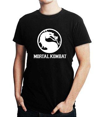 Camiseta Masculina Mortal Kombat Games Anime - Personalizadas / Customizadas / Estampadas / Camiseteria / Estamparia / Estampar / Personalizar / Customizar / Criar / Camisa Blusas Baratas Modelos Legais Loja Online