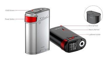 Kit Cigarro Eletrônico G320 Marshal 220W/320W CT Smok info