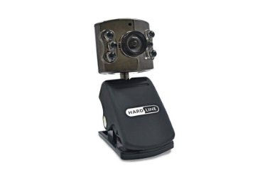 Webcam Hardline 3808 Usb Preto 6 Leds