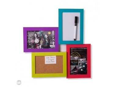 Porta Retrato e Recados Fun Colors - 35x34x3cmcm