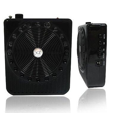 Microfone Megafone Digital Palestra Amplificador de Voz - Cor Preto