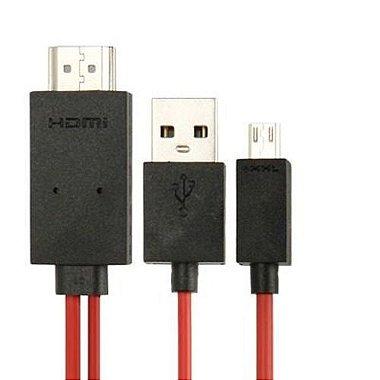 Cabo Adaptador Micro USB X HDMI Galaxy S3 / S4 / S5