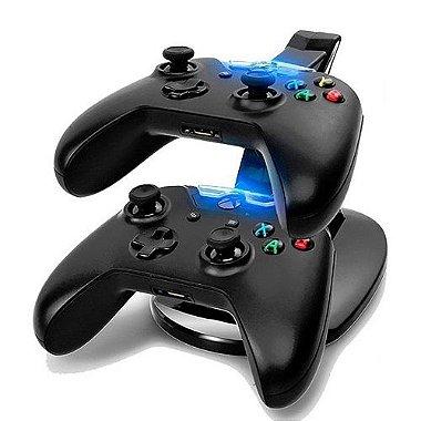 Carregadora Dock para 2 Controles Xbox One