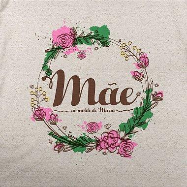 Camiseta Mãe ao molde de Maria Feminino Merino