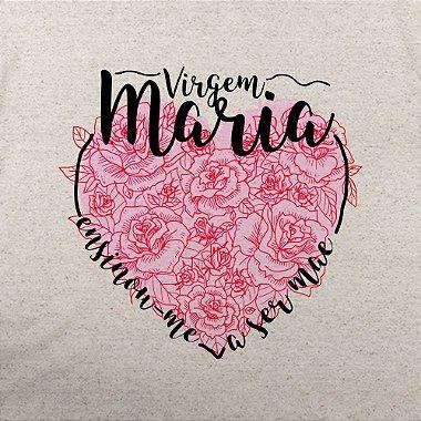 DUPLICADO - Camiseta Mãe ao molde de Maria Feminino Merino