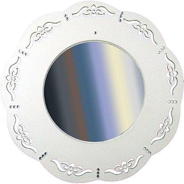 Mandala de MDF com Espelho