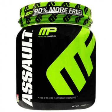 Assault 30 Doses - Muscle Pharm Frutas