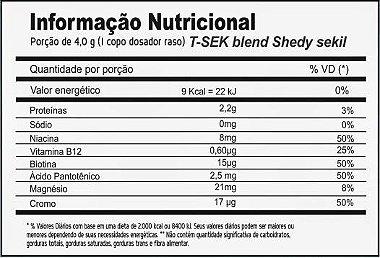 Tabela Nutricional T_SEK