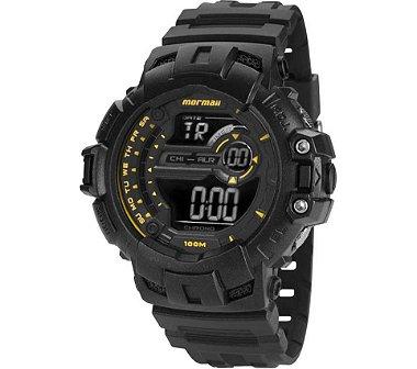 Relógio Masculino Mormaii Acqua Pro MO1091N / 8Y - Preto / Amarelo